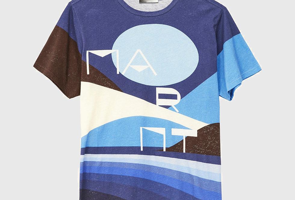 Isabel Marant Zaffim T-shirt Blue