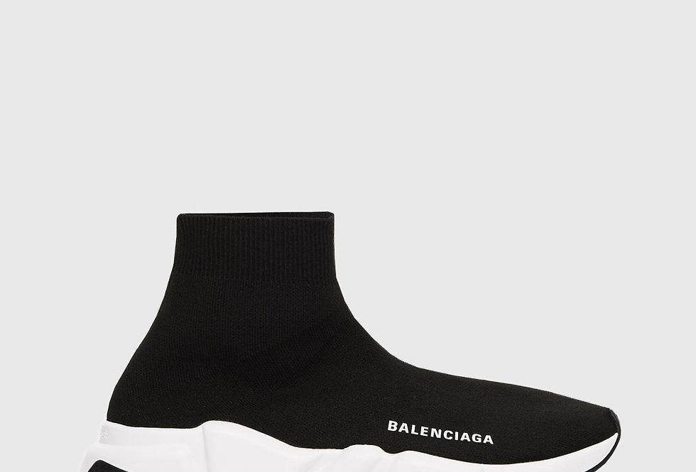 Balenciaga Speed Sneaker Black White