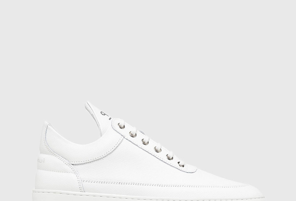 Filling Pieces Low Top Ripple Crumbs All White