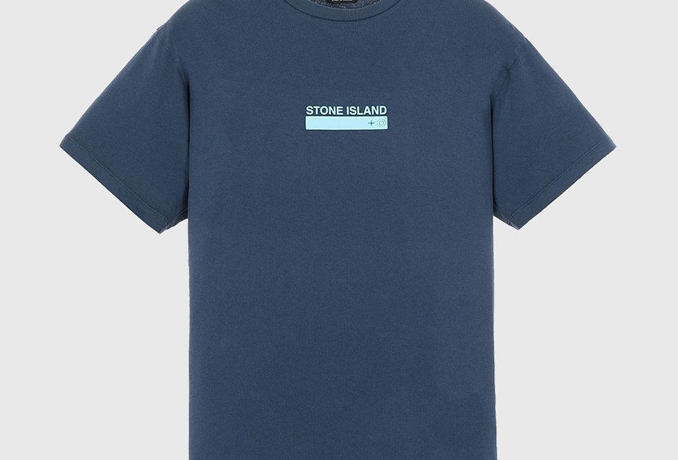Stone Island 2NS55 Small Logo One Print T-shirt Avio Blue