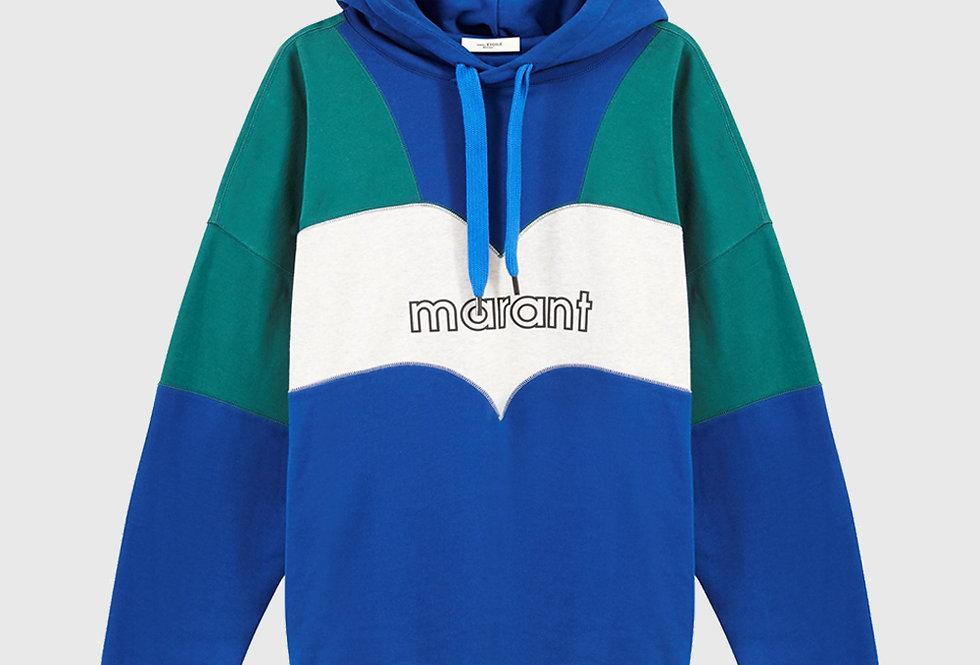 Isabel Marant Olan Sweatshirt Blue