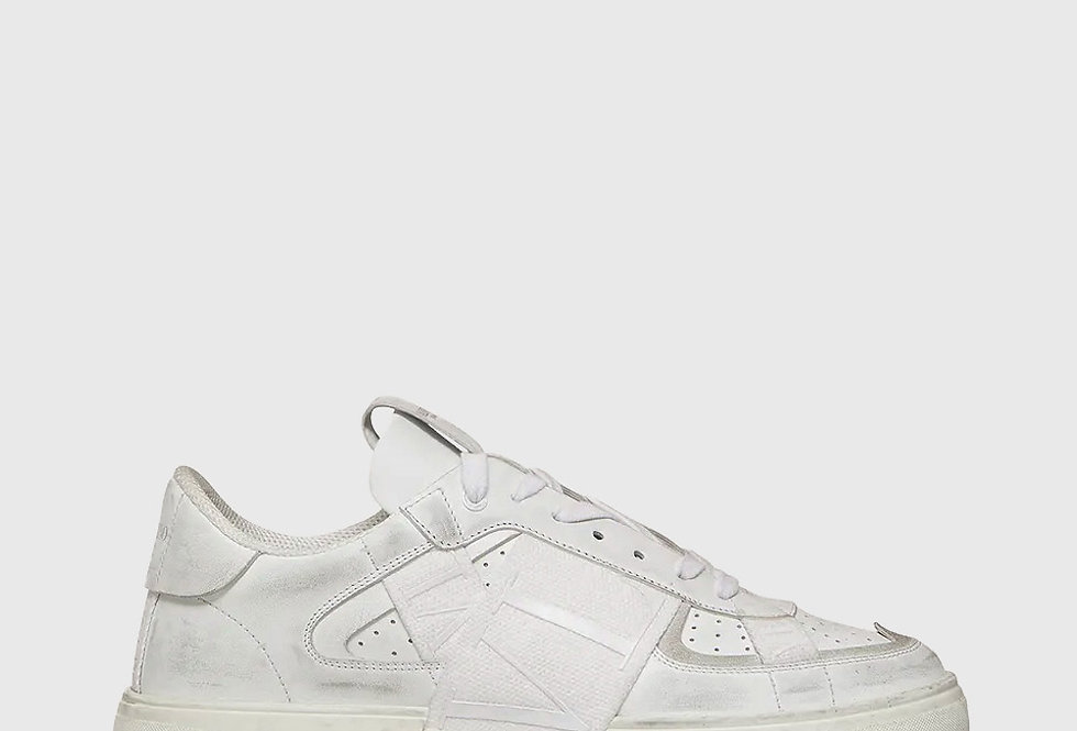 Valentino Low Top Calfskin VL7N Sneaker White