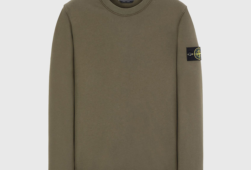 Stone Island 63051 Sweatshirt Olive Green