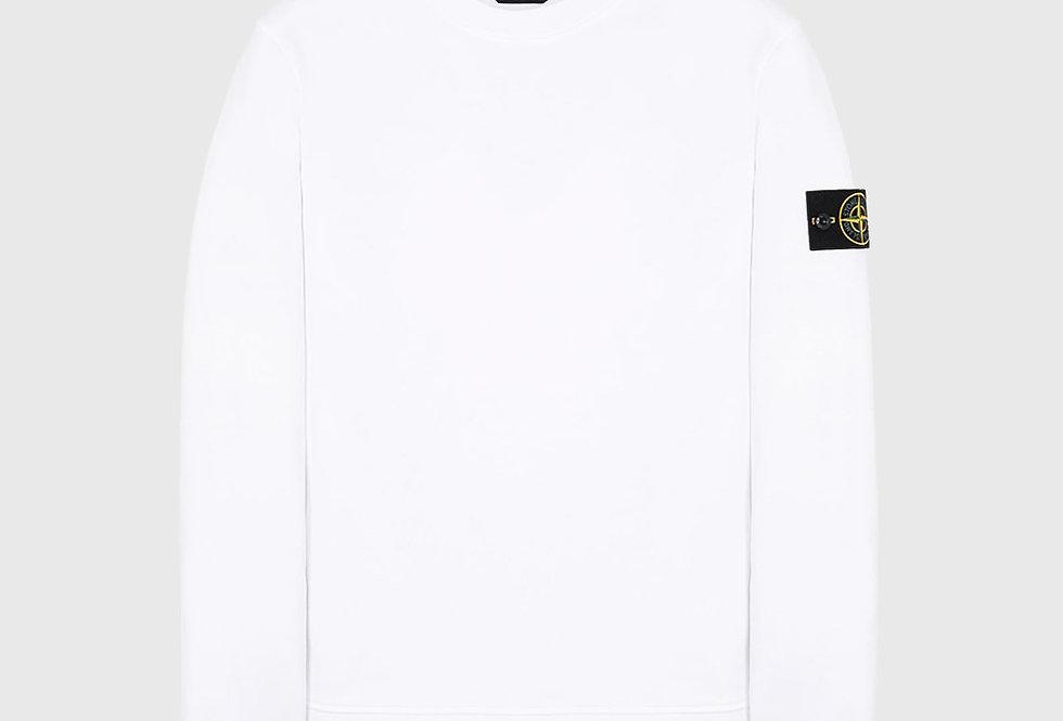 Stone Island 63051 Sweatshirt White