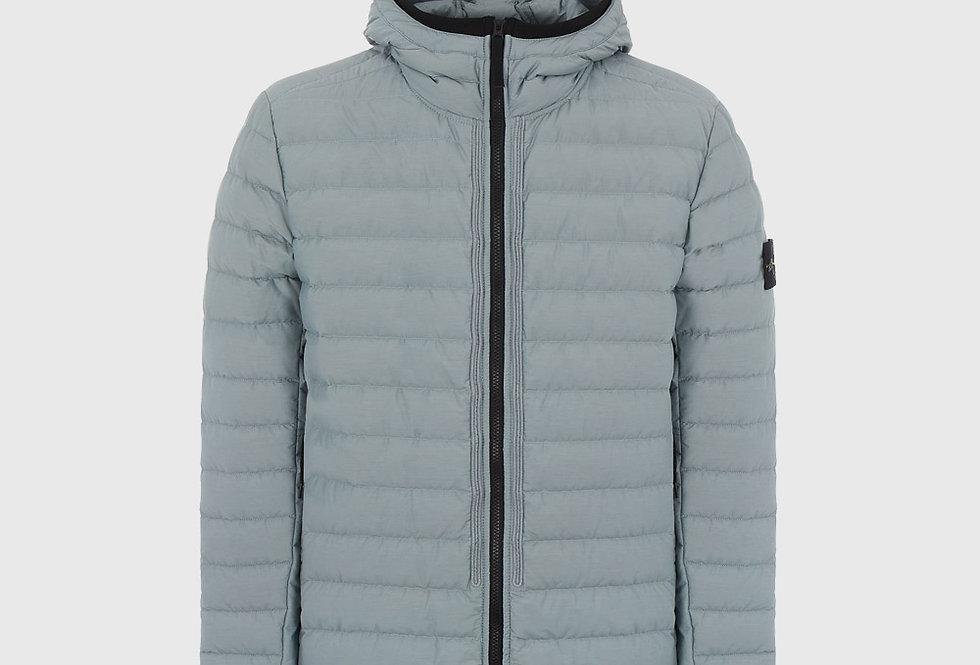 Stone Island 42725 O-Cotton R-Nylon Tela Jacket Pearl Grey