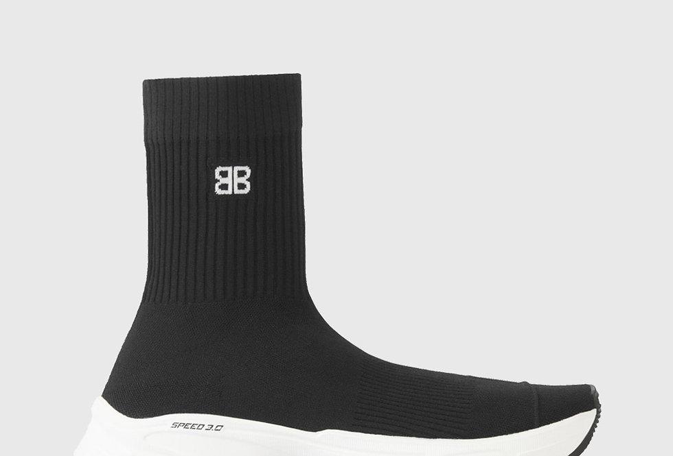 Balenciaga Speed 3.0 Sneaker Black White