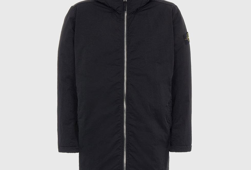 Stone Island 42446 Hyper Dense Nylon Twill Primaloft®-TC Jacket Black