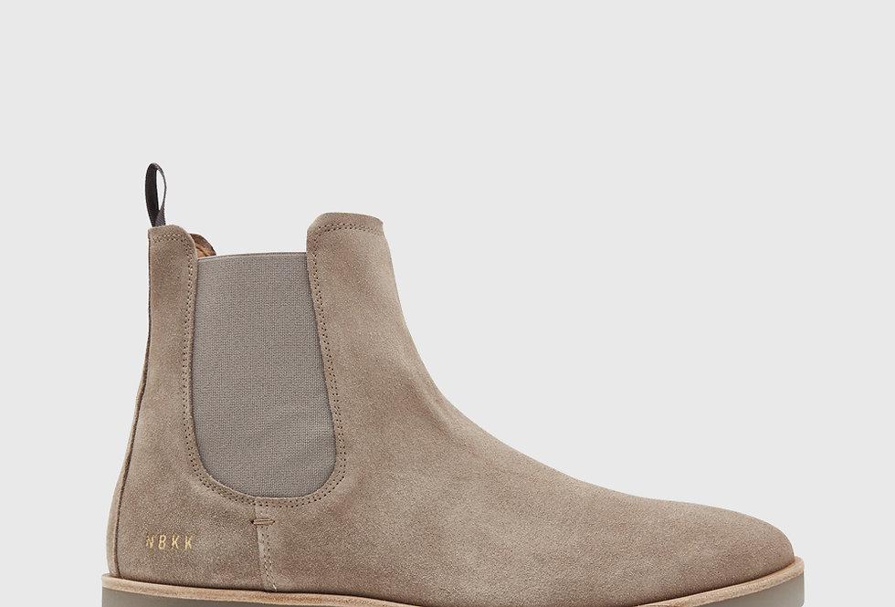 Nubikk Logan Chelsea Boots Taupe