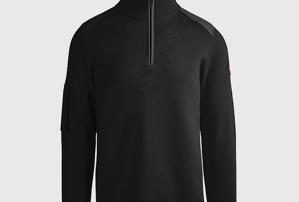 Canada Goose Stormont 1/4 Zip Sweater Black