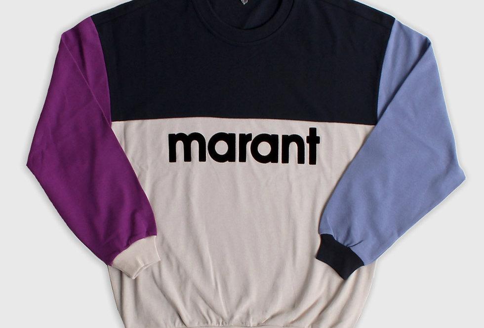 Isabel Marant Aftone Sweat Shirt Faded Night