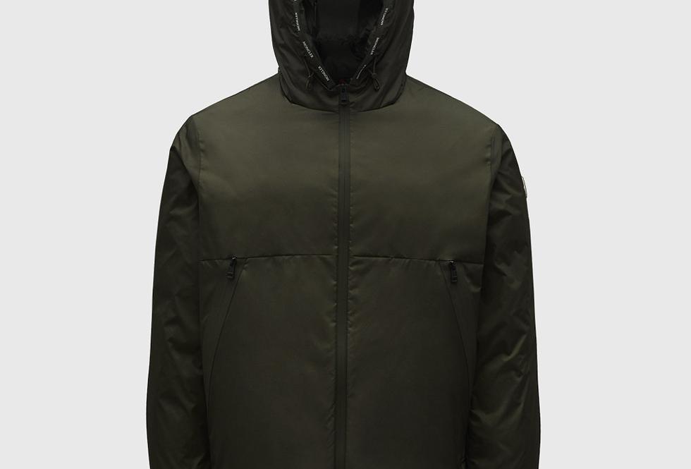 Moncler Short Down Jacket Laurain Army Green