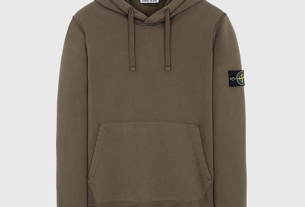 Stone Island 64151 Hooded Sweatshirt Olive Green