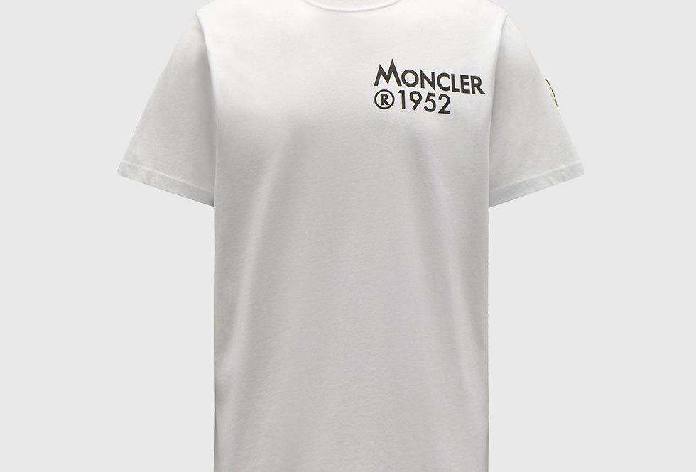 Moncler 1952 T-shirt Optical White