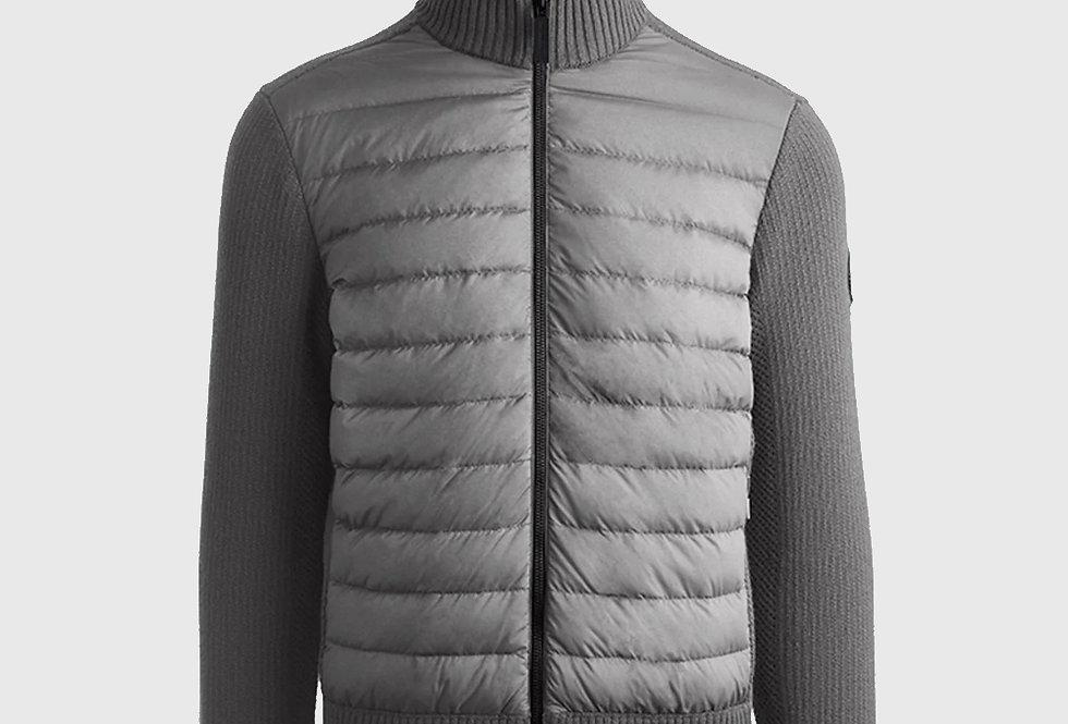Canada Goose Hybridge Knit Jacket Iron Grey