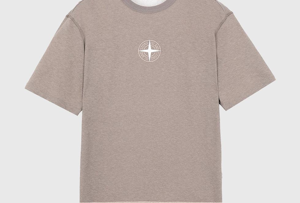 Stone Island 23341 Short Sleeve T-shirt Beige