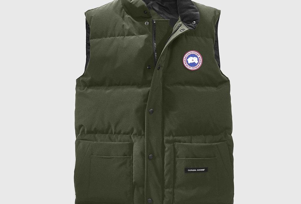 Canada Goose Freestyle Crew Vest Military Green