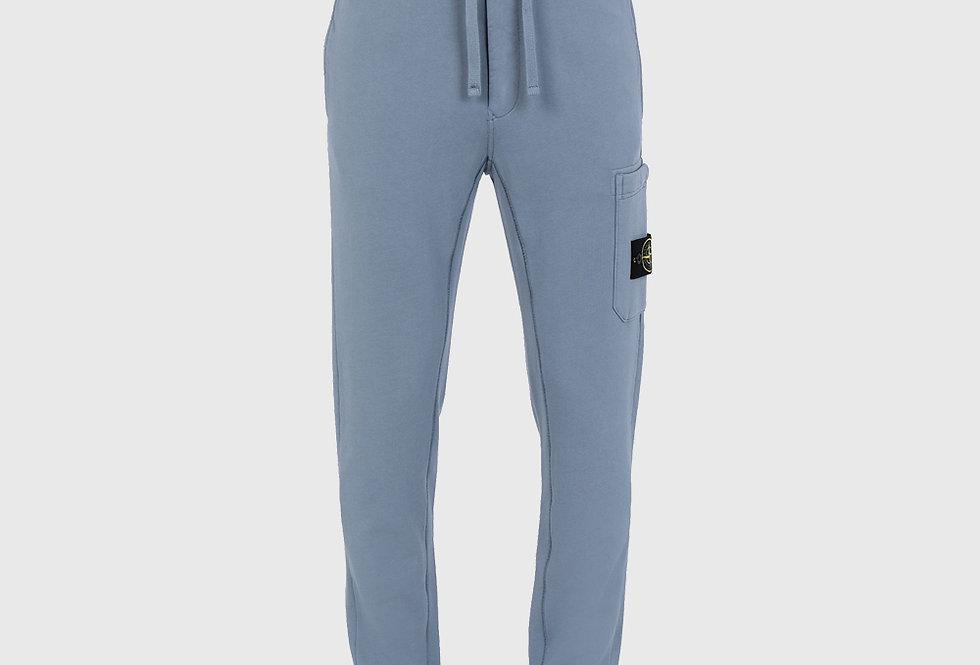 Stone Island 64551 Fleece Trousers Mid Blue