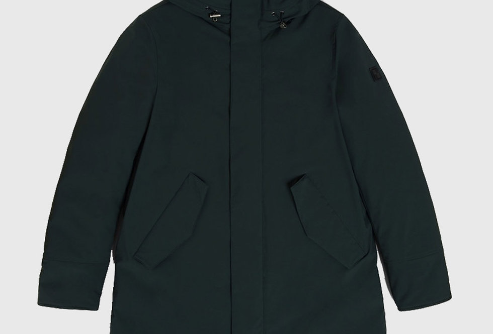Woolrich Mountain Parka Stretch Dark Holly Green