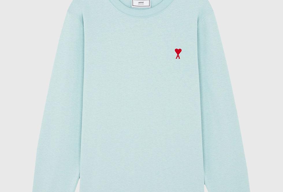 Ami de Coeur Long Sleeve T-shirt Green Aqua