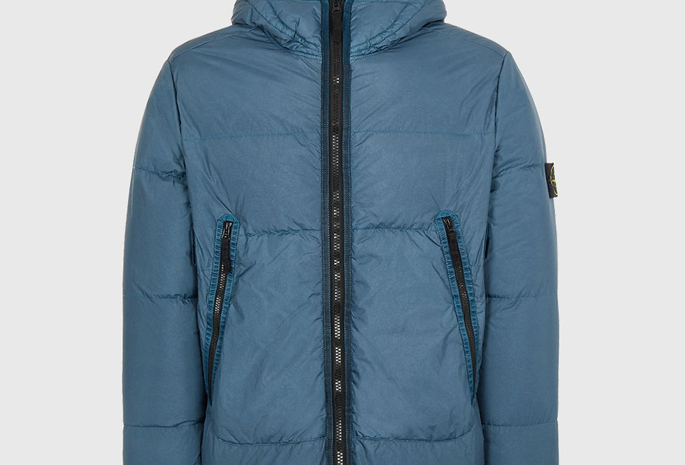 Stone Island 40123 Garment Dyed Crinkle Reps NY Down TC Jacket Teal