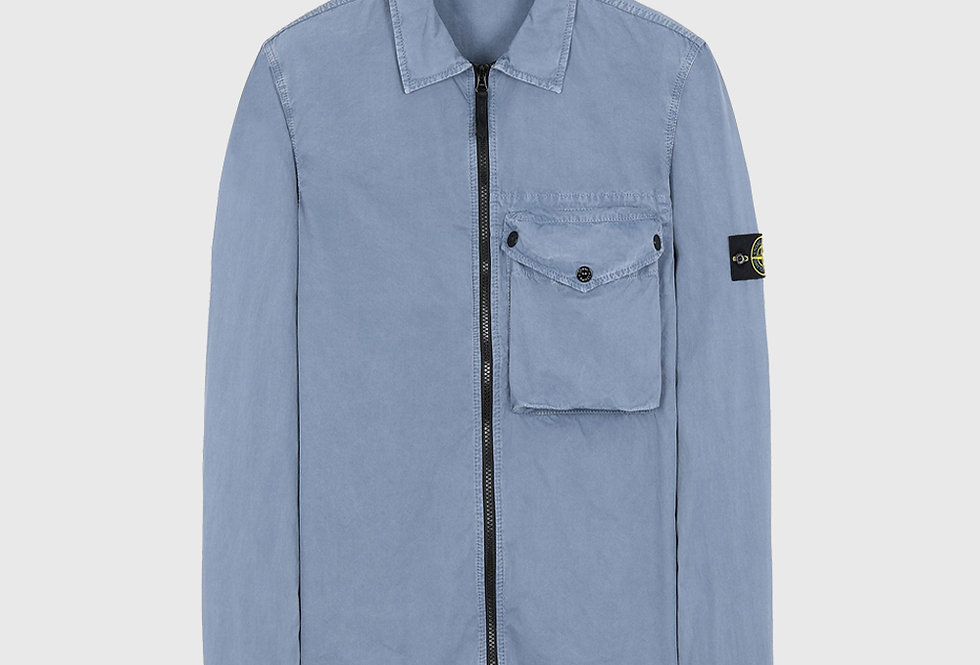 Stone Island 117WN T.CO+OLD Overshirt Pastel Blue