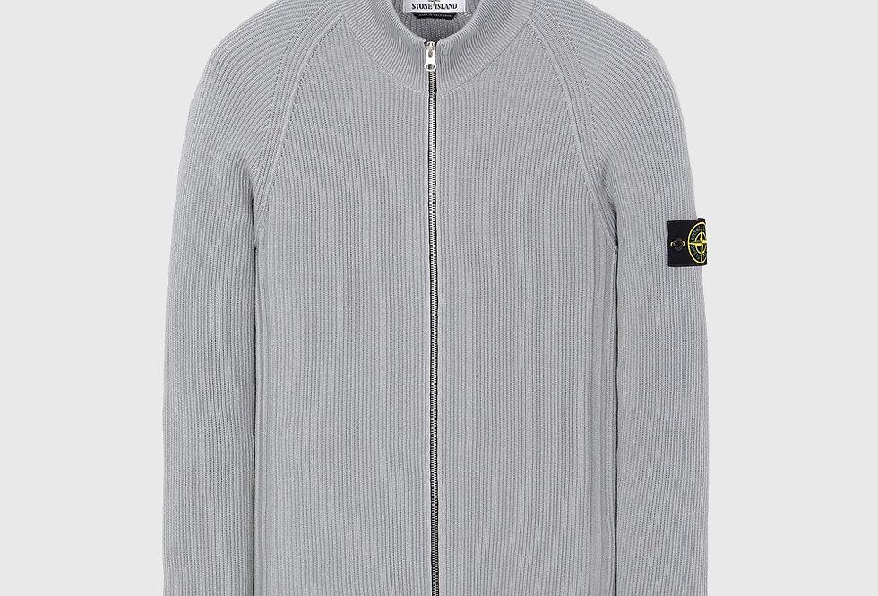 Stone Island 562D8 Knitted Cardigan Grey