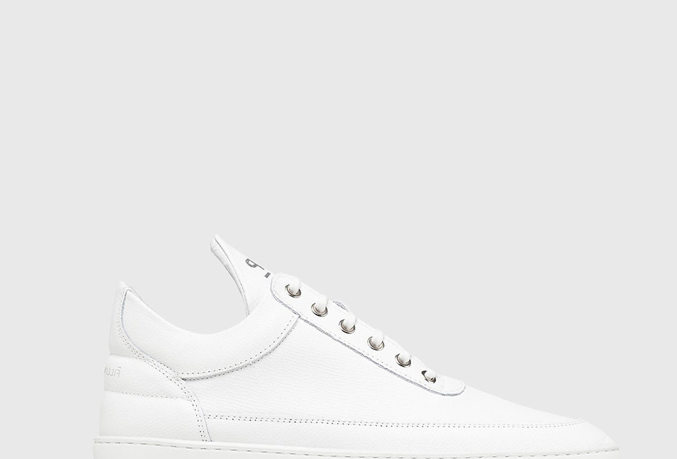 Filling Pieces Low Top Ripple Crumble All White
