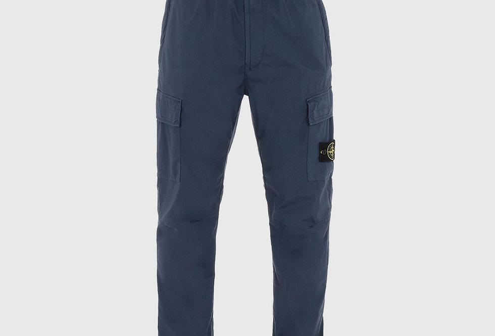 Stone Island 31303 Cargo Pants Avio Blue