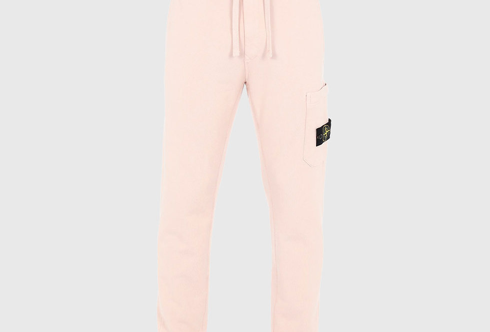 Stone Island 64551 Fleece Trousers Pastel Pink