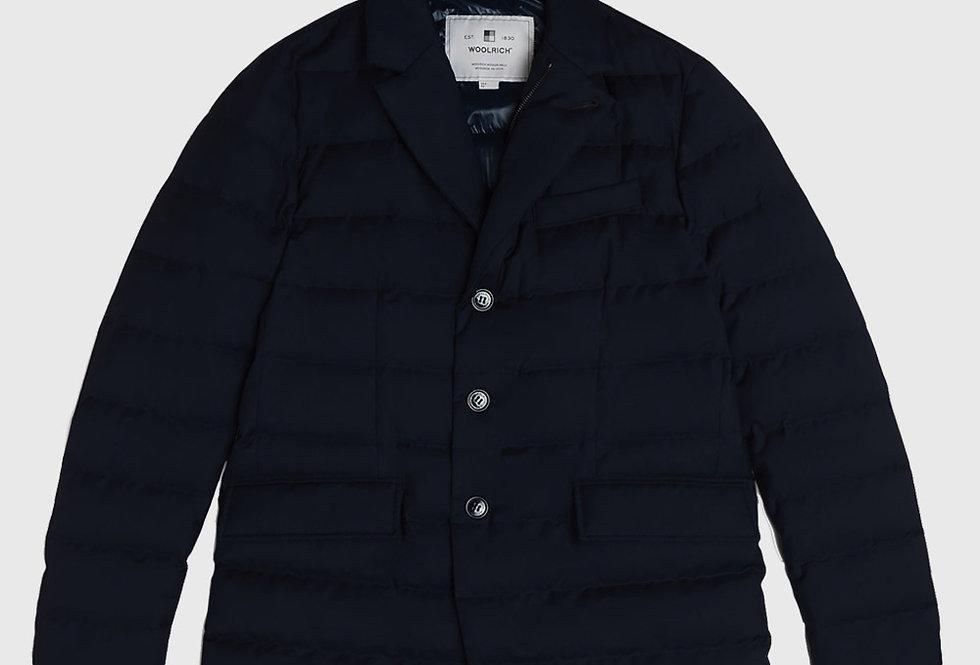 Woolrich Luxe Blazer Melton Blue