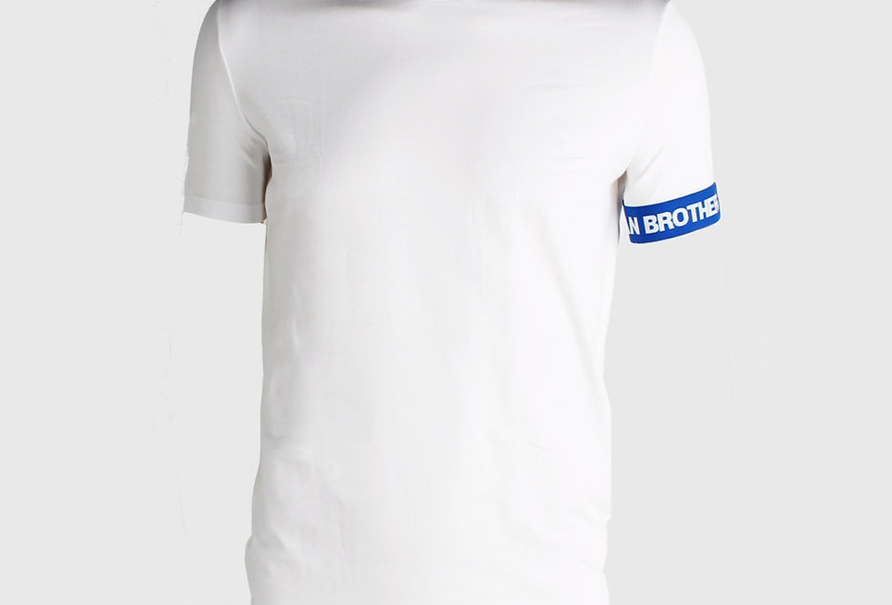 Dsquared2 T- Shirt White Blue
