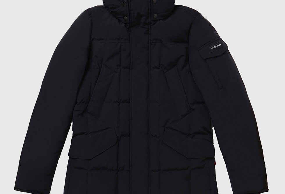 Woolrich Blizzard Field Jacket Black