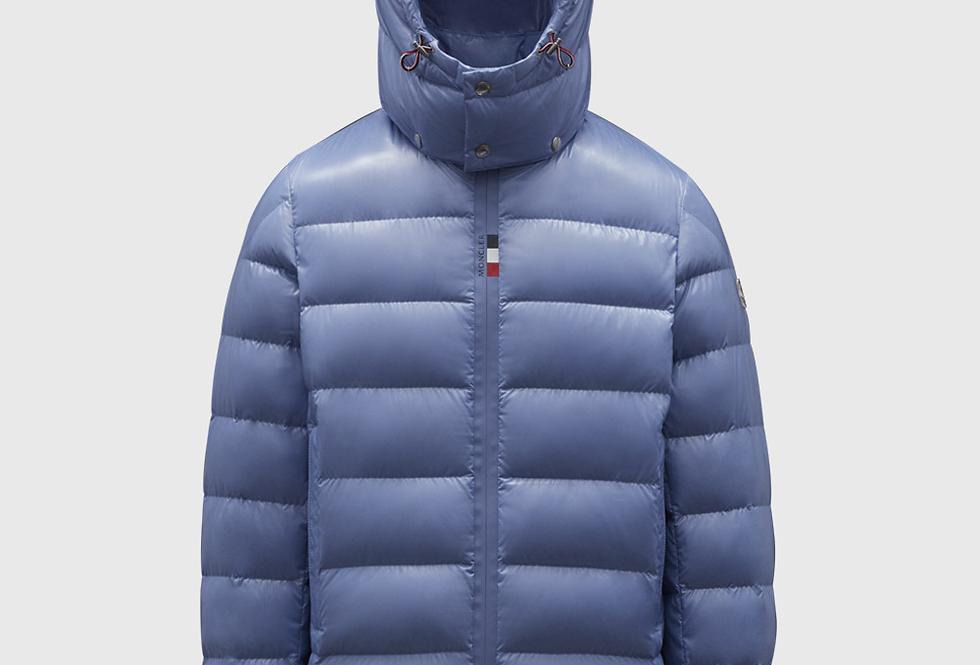 Moncler Short Down Jacket Cuvellier Sky Blue