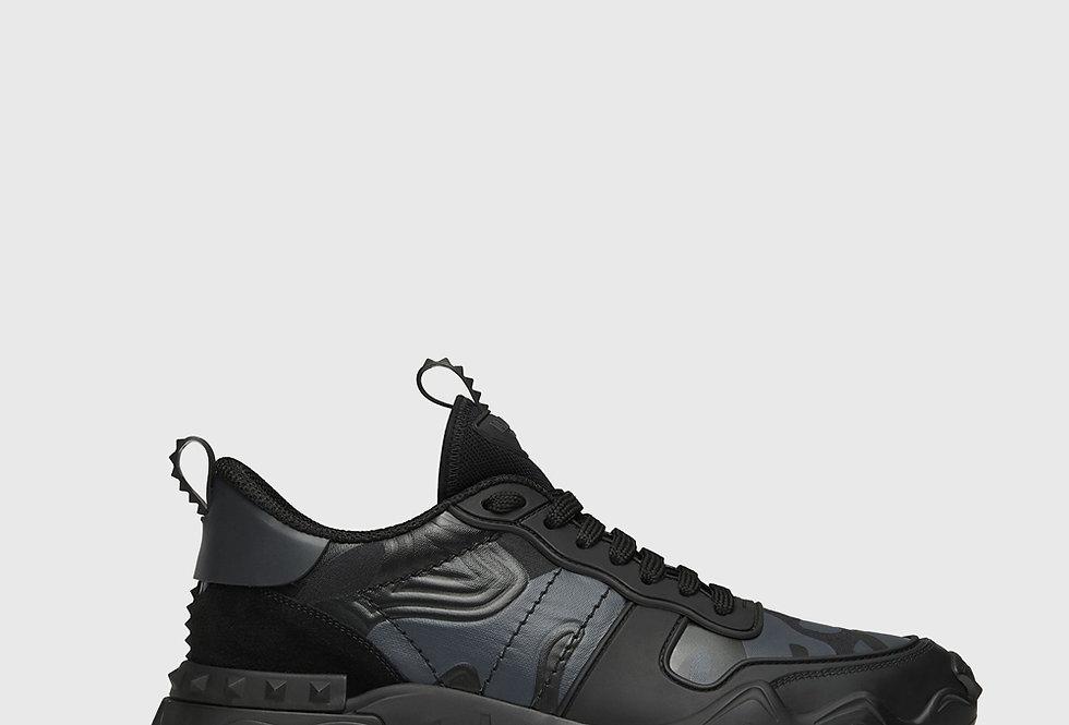 Valentino Rockrunner Plus Sneaker Black Anthracite