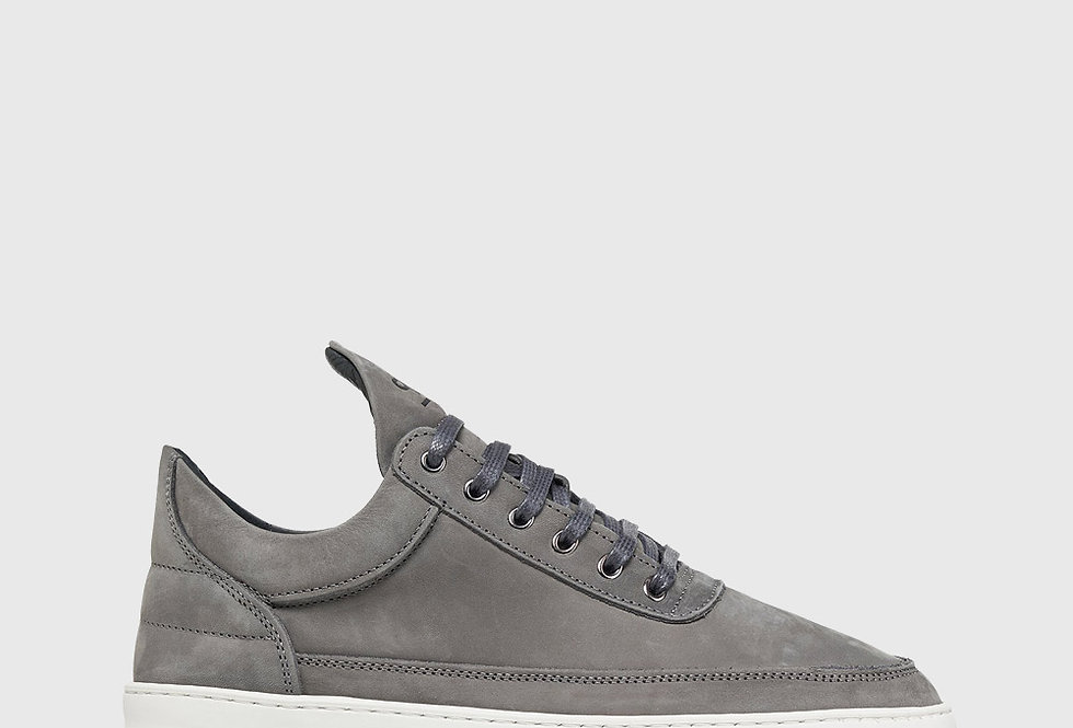 Filling Pieces Low Top Ripple Nubuck Shark