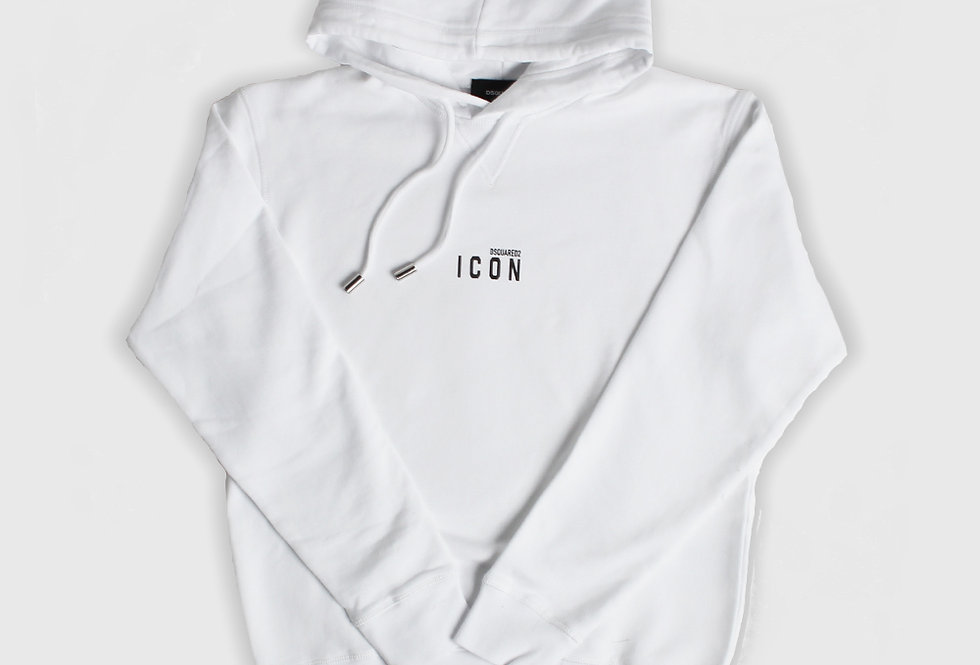 Dsquared2 Icon Hooded Sweatshirt White