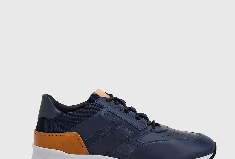 Tod's Sneakers Leather Blue