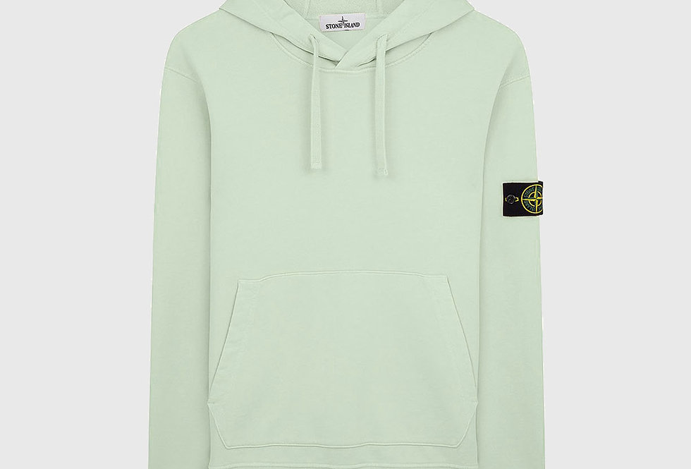 Stone Island 64151 Hooded Sweatshirt Light Green