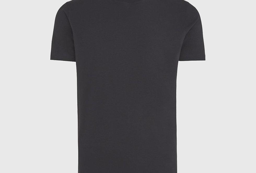 Genti Ice Cotton T-shirt Dark Blue