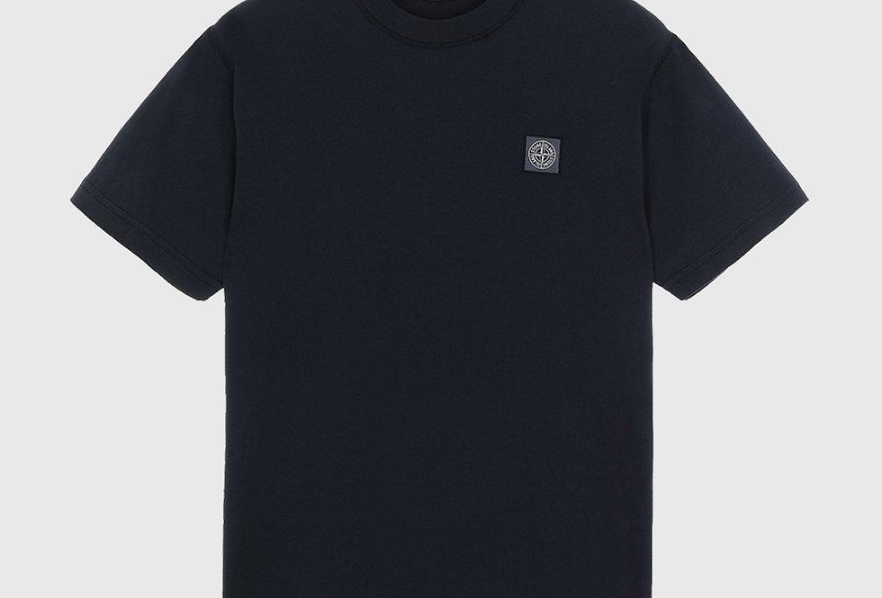 Stone Island 23757 Fissato Treatment T-shirt Blue