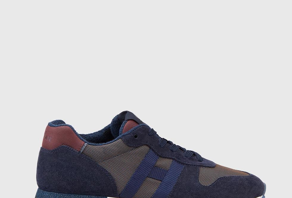 Hogan Sneakers H383 Blue Burgundy