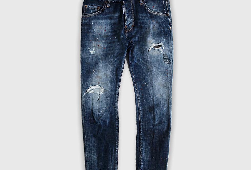 Dsquared2 Medium 4 Wash Skater Jeans
