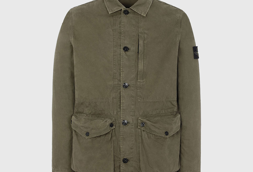 Stone Island 439WN T.CO+OLD Jacket Olive Green