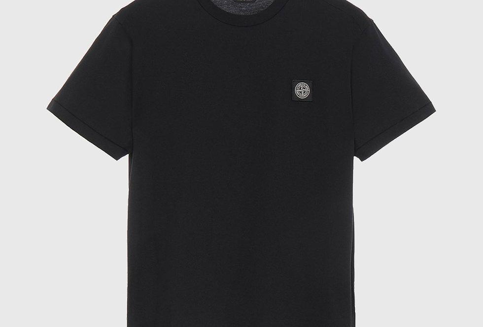 Stone Island 24113 Patch Logo T-shirt Black