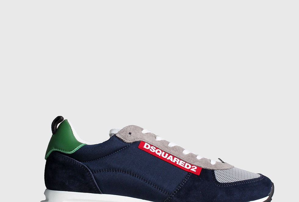 Dsquared2 Lace-Up Navy Blue