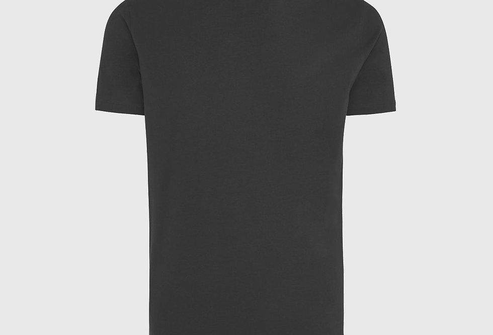 Genti Ice Cotton T-shirt Black