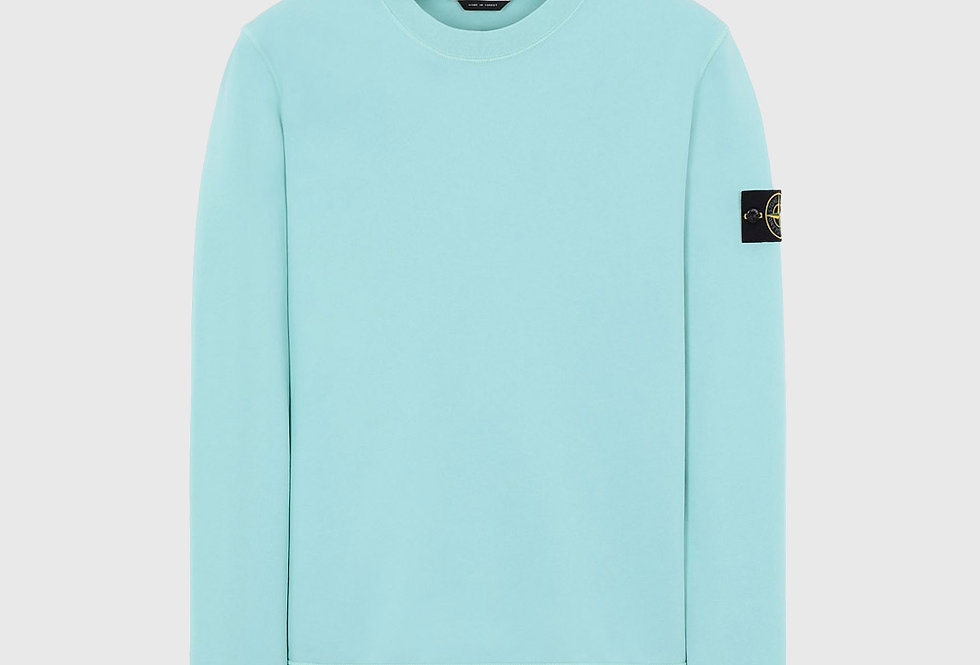 Stone Island 63051 Sweatshirt Aqua