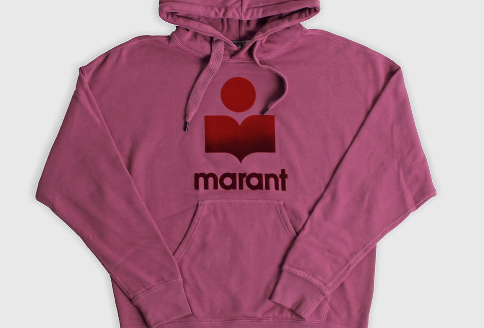 Isabel Marant Miley Hoodie Pink