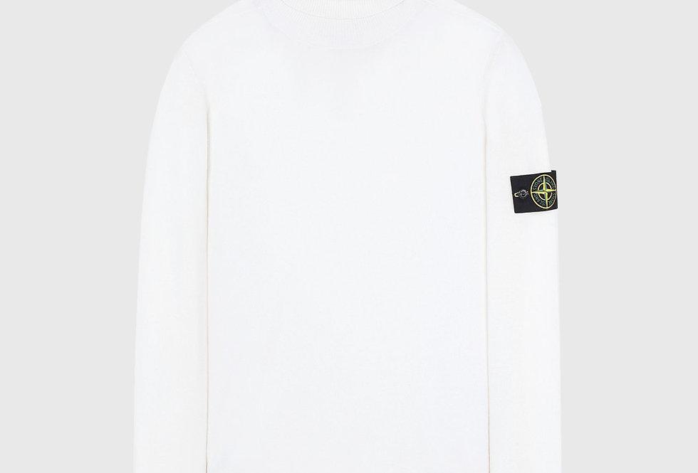 Stone Island 528C4 Light Wool Knitwear Ecru