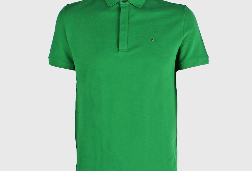 Valentino Iconic Stud Polo Shirt Green